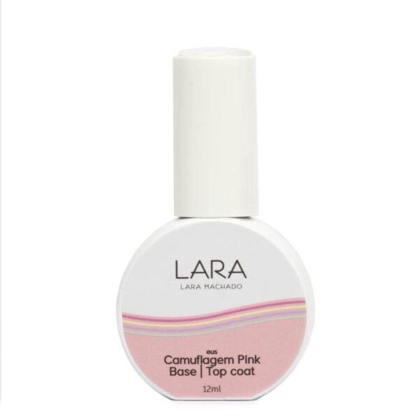 Lara Machado Gel Camuflagem Pink Base | Top Coat 12ml