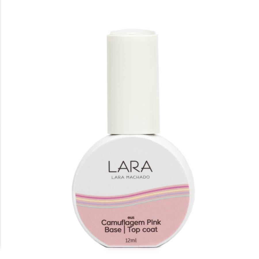 Lara Machado Gel Camuflagem Pink Base   Top Coat 12ml